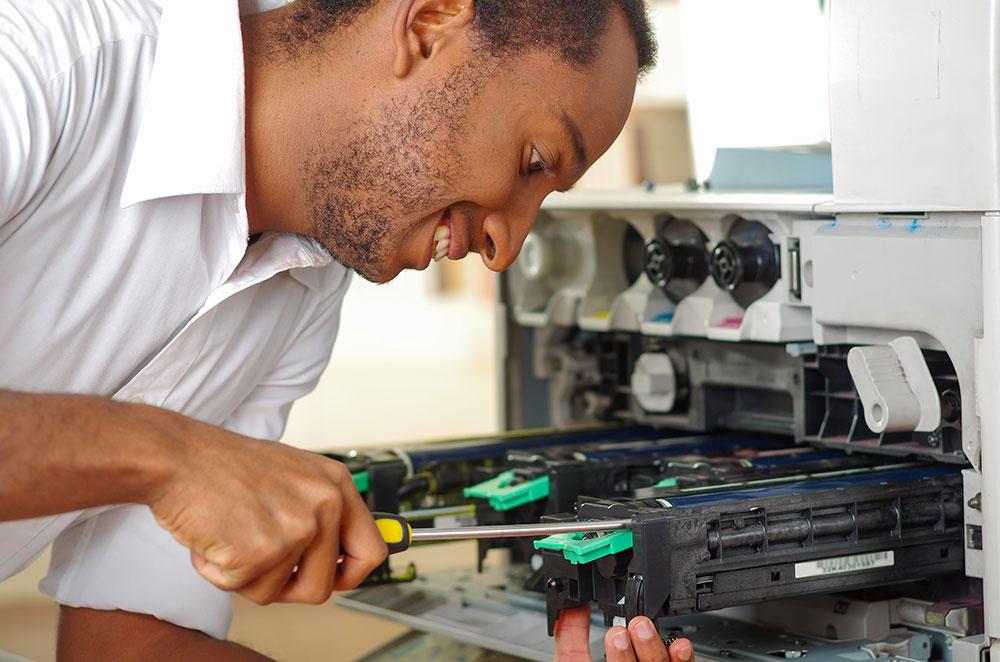 copier technician